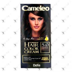 Cameleo Perm Hair Colour Cream 5.0 Light Brown