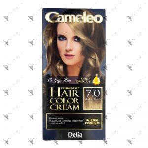 Cameleo Perm Hair Colour Cream 7.0 Medium Blond