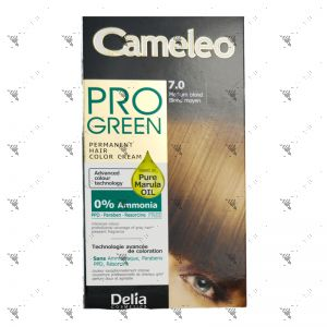 Cameleo Pro-Green Perm Hair Colour 7.0 Medium Blond