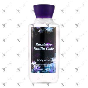 Signature Collection Body Lotion 236ml Raspberry Vanilla Code