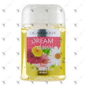 Signature Collection Body Luxuries Anti-Bacterial Hand Gel 29ml Dream Daisy
