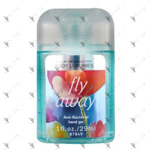 Signature Collection Body Luxuries Anti-Bacterial Hand Gel 29ml Fly Away Blossom
