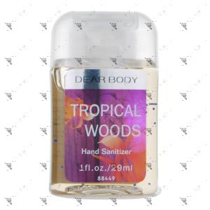 Signature Collection Body Luxuries Anti-Bacterial Hand Gel 29ml Tropical Woods