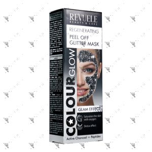 Revuele Regenerating Peel Off Glitter Mask 80ml Black