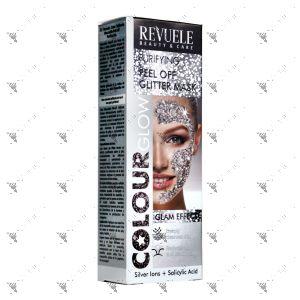 Revuele Purifying Peel Off Glitter Mask 80ml Silver