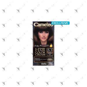 Cameleo Perm Hair Colour Cream 5.3 Light Golden Brown