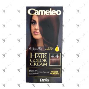 Cameleo Perm Hair Colour Cream 4.4 Copper Brown