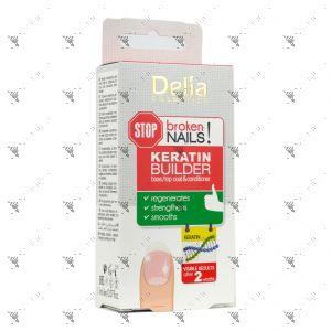 Delia Nails Keratin Builder Base/Top Coat & Conditioner 11ml