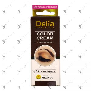 Delia Eyebrow 3.0 Dark Brown Colour Cream 15ml