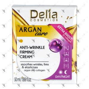 Delia Anti-Wrinkle Firming Day/Night Cream 50ml Argan Care