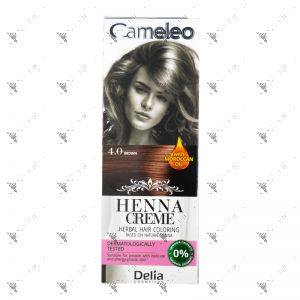 Cameleo Herbal Hair Coloring Cream 4.0 Brown