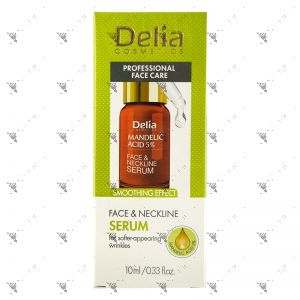Delia Face & Neckline Serum 10ml Smoothing