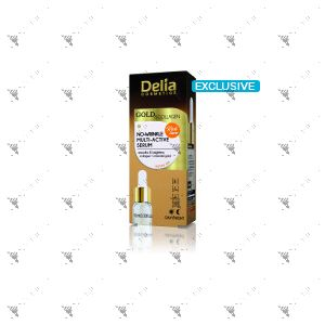 Delia Gold & Collagen No Wrinkle Multi Active Serum 10ml
