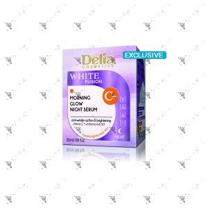 Delia White Fusion Morning Glow Night Serum 50ml