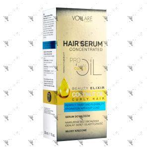 Vollare Hair Serum Coconut Oil Curly Hair 30ml
