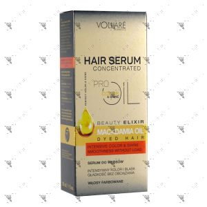 Vollare Hair Serum Macadamia Oil Dyed Hair 30ml