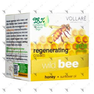 Vollare Regenerating Face Cream 50ml From Wild Bee Series