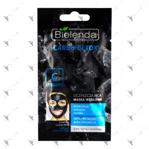 Bielenda Carbon Detox Cleansing Carbon Mask Dry and Sensitive Skin 8g