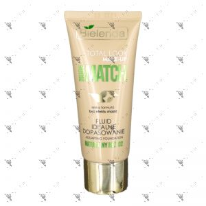 Bielenda Total look Make - Up Nude Match Fluid 30g Addapting Foundation 02