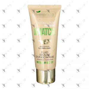 Bielenda Total look Make - Up Nude Match Fluid 30g Addapting Foundation 02