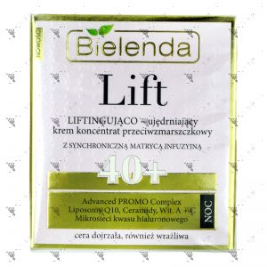 Bielenda LIFT Lifting and Firming Anti-Wrinkle Cream-Concentrate 40+ Night 50ml