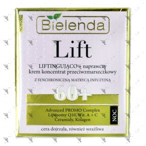 Bielenda LIFT Lifting and Repairing Anti-Wrinkle Cream - Concentrate 60+ 50ml Night
