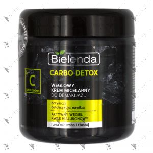 Bielenda Carbon Detox Carbon Micellar Cream Make-up Remover 250ml