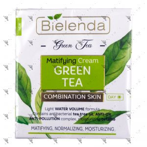 Bielenda Green Tea Mattifying Cream Green Tea 50ml Combination Skin