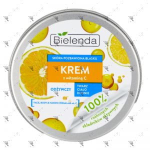 Bielenda Krem Face,Body & Hands Cream With Vitamin C 200ml