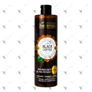 Bielenda Stress Relief Naturals 2in1 Shower Gel+Body Scrub Black Coffee 410g