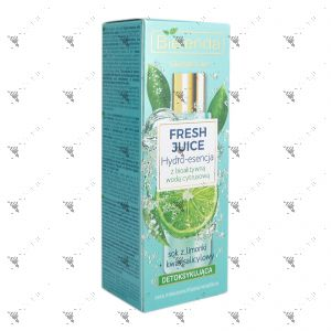 Bielenda Fresh Juice Detoxifying Hydro-Essence 110ml Lemon