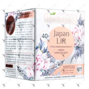 Bielenda Japan Lift Moisturizing Anti-Wrinkle Face Cream 40+ SPF6 50ml