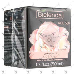 Bielenda Camellia Oil Luxurious Lifting Face Cream 50+ 50ml