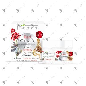 Bielenda Red Ginseng Moisturizing Anti-Wrinkle Cream Night 40+ 50ml