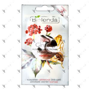Bielenda Red Ginseng Regenerating Anti-Wrinkle Face Mask 8g