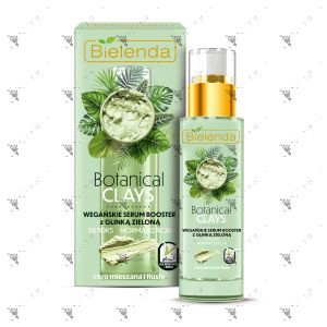 Bielenda Botanical Clays Vegan Serum Booster 30ml Green