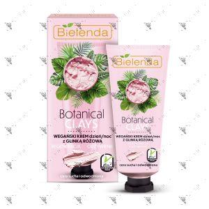 Bielenda Botanical Clays Vegan Cream 50ml Pink