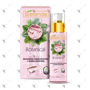 Bielenda Botanical Clays Vegan Serum Booster 30ml Pink