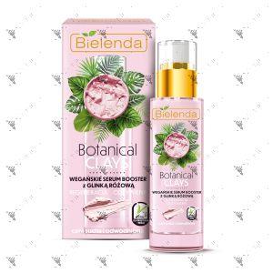 Bielenda Botanical Clays Vegan Serum Booster 30ml Pink