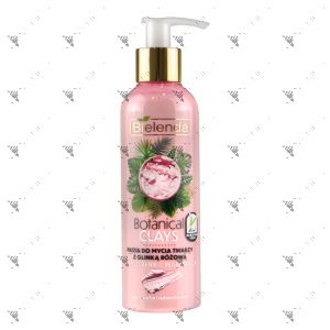 Bielenda Botanical Clays Vegan Face Cleansing 215g Pink