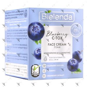 Bielenda C-Tox Face Cream Moisturizing & Illuminating 40g Blueberry