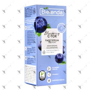 Bielenda C-Tox Face Serum Moisturizing & Illuminating 30ml Blueberry