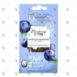 Bielenda C-Tox Smoothie Mask Moisturizing & Illuminating 8g Blueberry