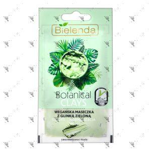 Bielenda Botanical Clays Vegan Face Mask 8g Green