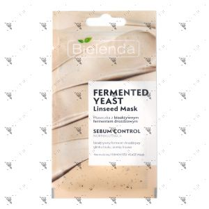 Bielenda Normalizing Fermented Yeast Linseed Mask 8g