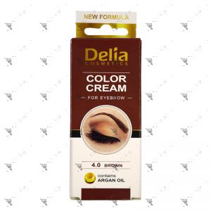 Delia Eyebrow 4.0 Brown Colour Cream 15ml