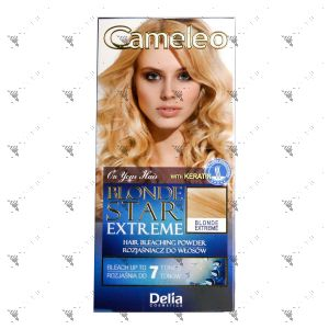 Cameleo Blonde Star Extreme Hair Bleach Powder Blonde Extreme