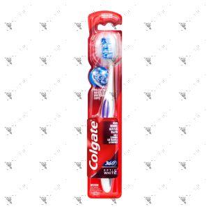 Colgate Toothbrush 360 Optic White Medium 1s