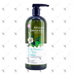 Avalon Organics Shampoo 946ml Scalp Treatment Tea Tree