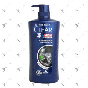 Clear Men Shampoo 750g Charcoal Fresh